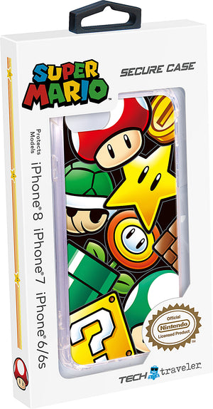 Nintendo Protective iPhone Case - Super Mario Icons - Bluemouth Direct