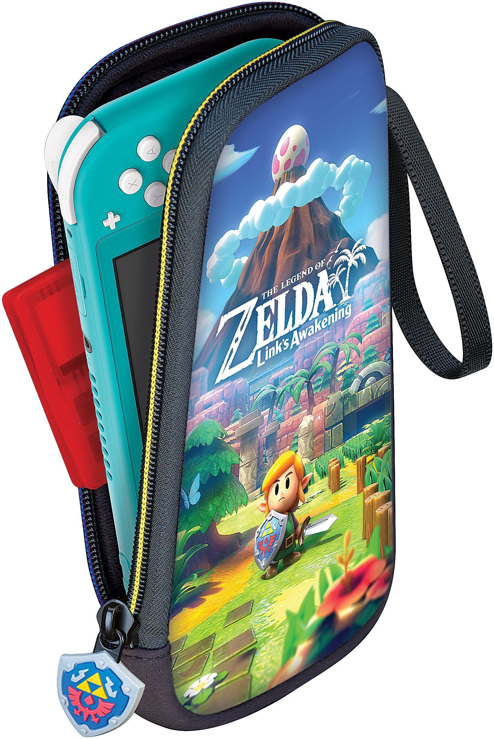 Nintendo Switch Lite Slim Travel Case - Link's Awakening - Bluemouth Direct