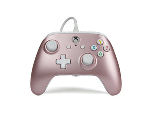 XB1 Enhanced Wired Controller - Rose Gold - Bluemouth Direct