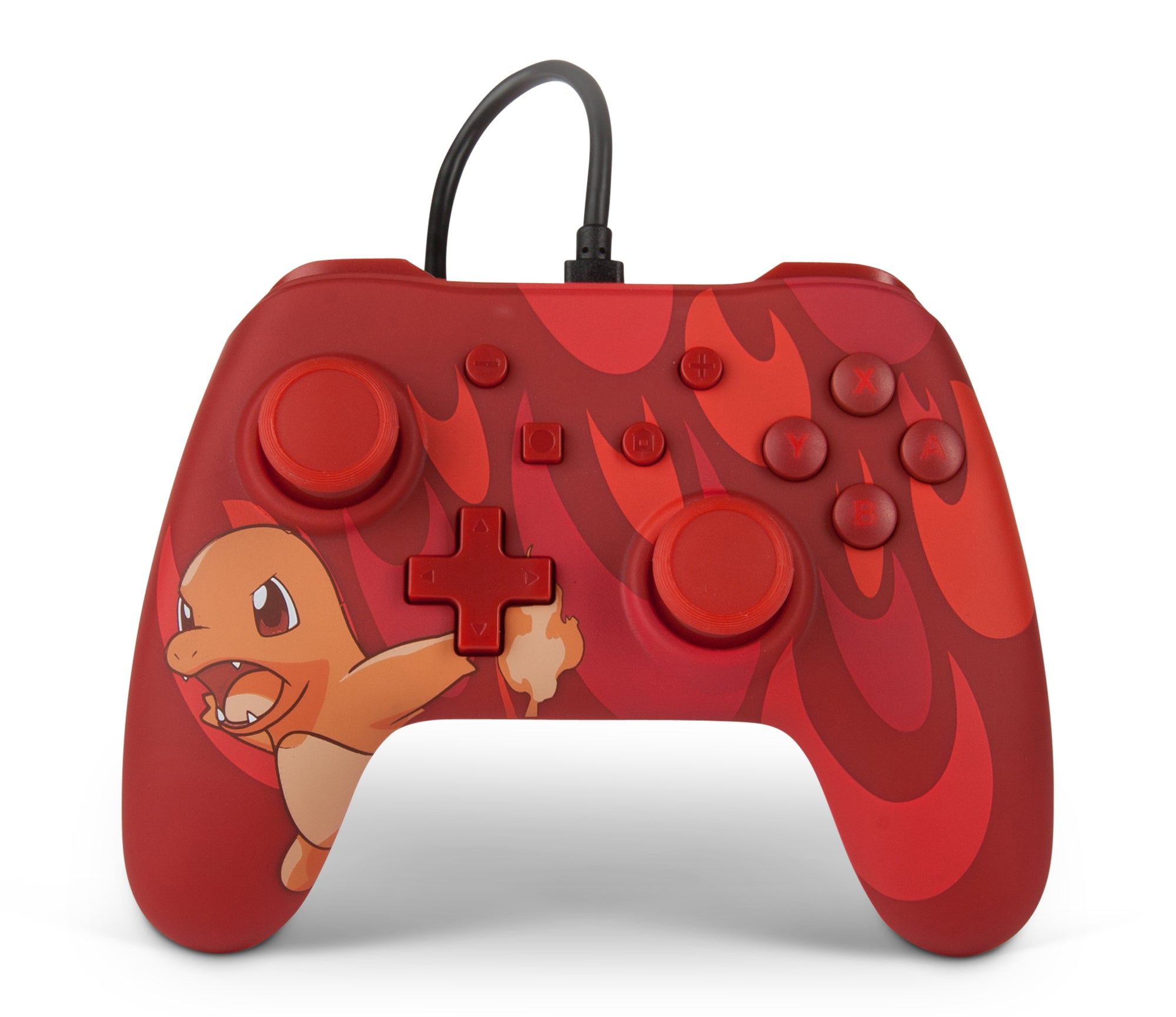 PowerA Pokémon Wired Controller for Nintendo Switch – Charmander Blaze - Bluemouth Direct
