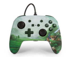 Enhanced Wired Controller for Nintendo Switch - Link Hyrule - Bluemouth Direct