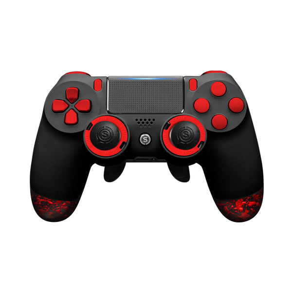 SCUF Infinity4PS PRO PS4 Black and Red- Spectrum Edition - Bluemouth Direct