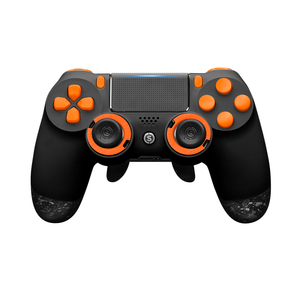 SCUF Infinity4PS PRO PS4 Black and Orange - Spectrum Edition - Bluemouth Direct
