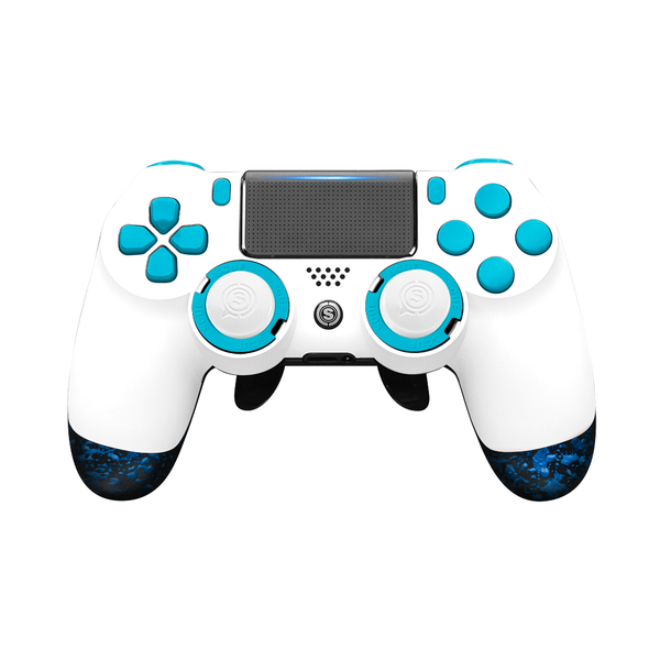 SCUF Infinity4PS PRO PS4 White and Blue - Spectrum Edition