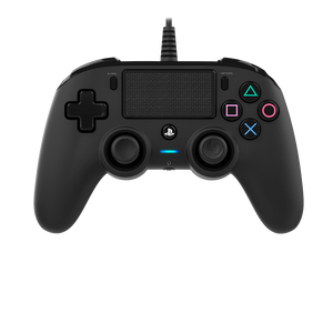 Nacon Wired Compact Controller - Black - Bluemouth Direct
