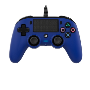 Nacon Wired Compact Controller - Blue - Bluemouth Direct