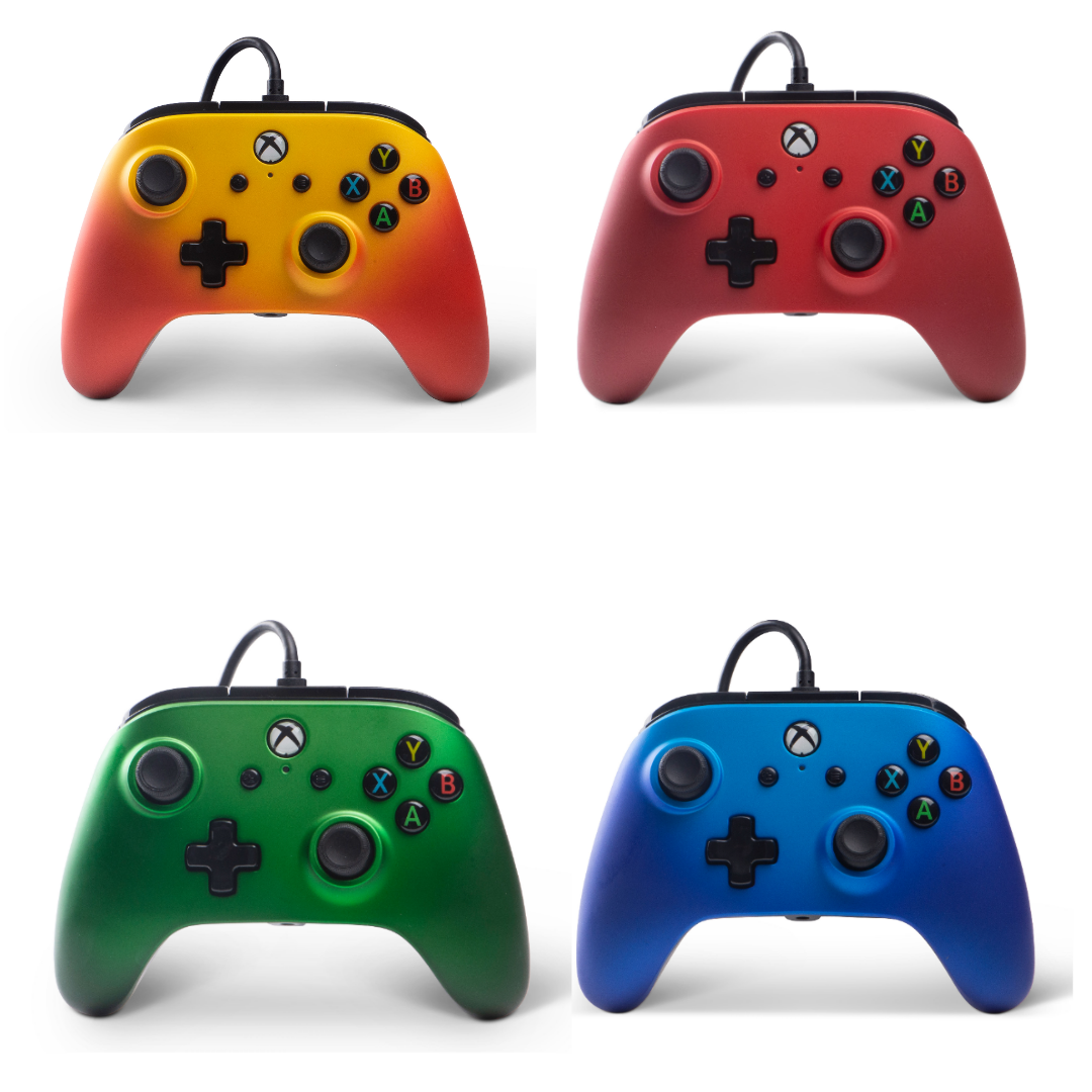 XB1 Enhanced Wired Controller - Fade Series - Bluemouth Direct