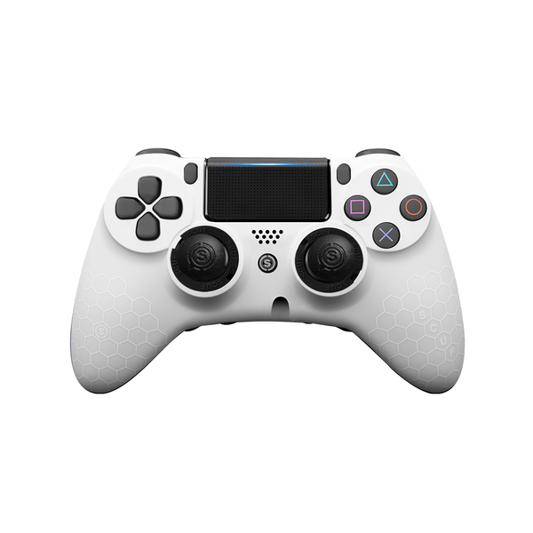 SCUF IMPACT PS4 Honeycomb White - Deluxe - Bluemouth Direct