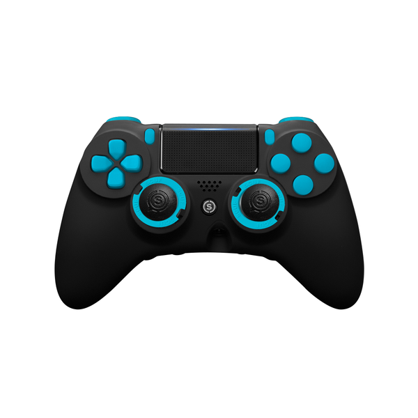 SCUF IMPACT PS4 Black & Blue - Spectrum Edition - Bluemouth Direct