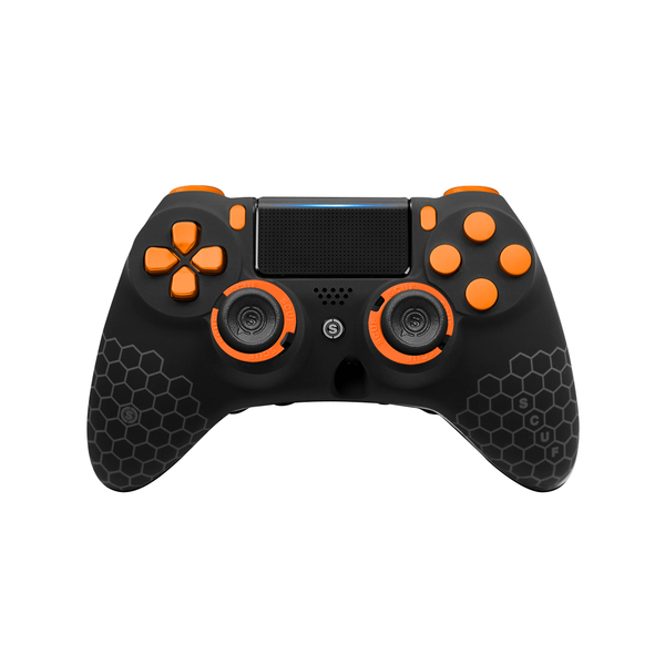 SCUF IMPACT PS4 Honeycomb Black and Orange - Spectrum Edition - Bluemouth Direct