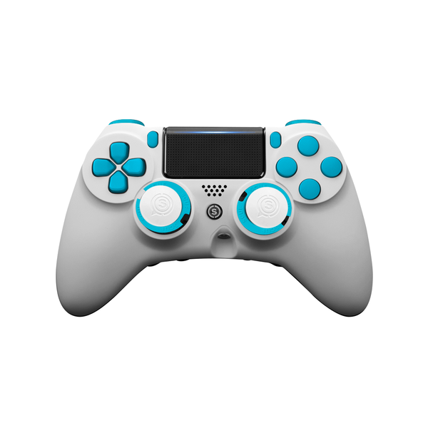 SCUF IMPACT PS4 White & Blue - Spectrum Edition