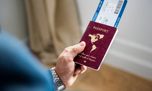 12 Essential Things to Know Before Travelling to Europe - Check your passport expiry - blog by Zoomlite
