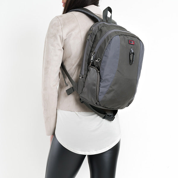 Zoomlite Anti Theft Backpack is also suitable for a female