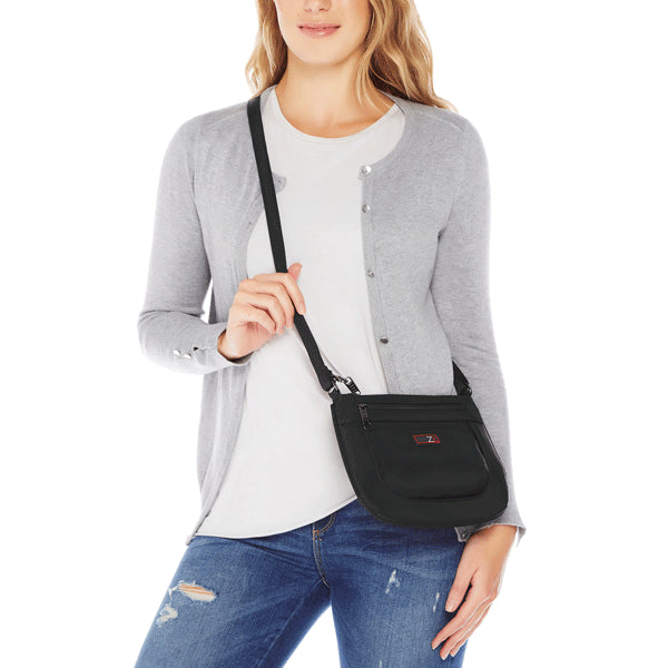 Zoomlite cross body bags are a Comfortable Fit