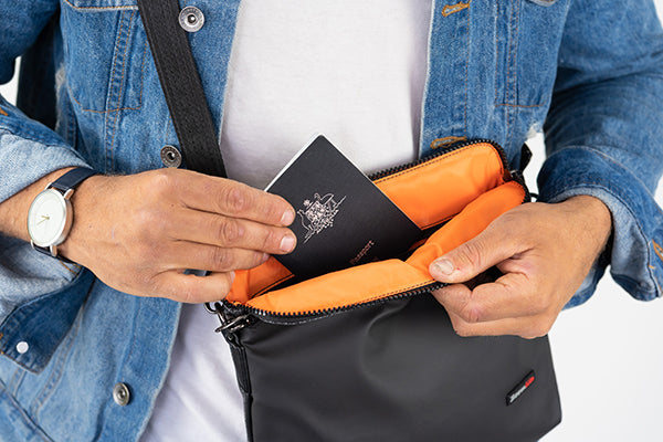 Data skimmers and scammers are kept at bay with Zoomlite's RFID blocking technology