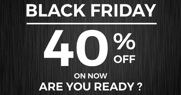 Black Friday Sale - Save 40%