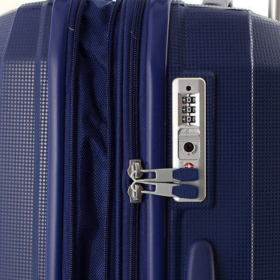 Zoomlite Travel Luggage with TSA Inline Combination Lock