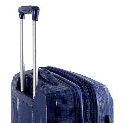 Zoomlite Carry on suitcase with Lightweight Lockable Trolley