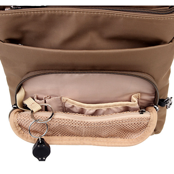 Zoomlite travel safe bags with Organiser Section