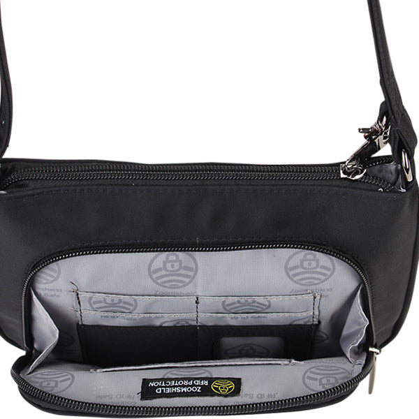 Zoomlite travel safe bags with RFID Blocking Pocket