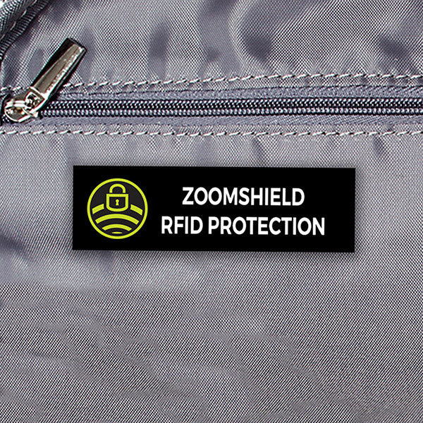 Zoomlite Zoe Crossbody RFID Hobo with RFID Blocking Pocket to prevent identify theft