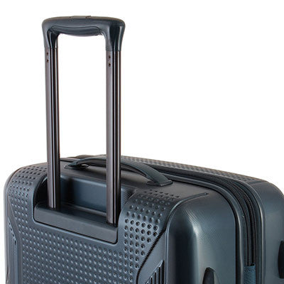 Zoomlite hard suitcases with Lightweight Lockable Trolley