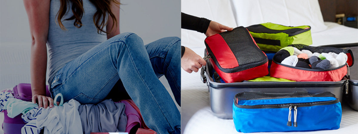 Transform your packing with Zoomlite packing cells for suitcases