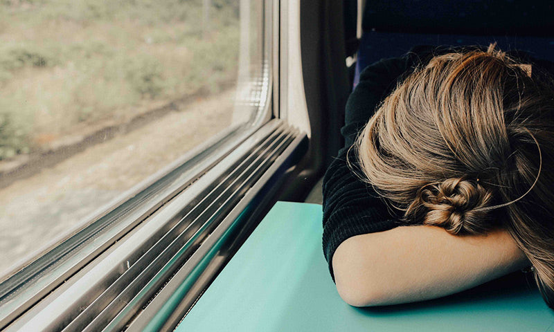 Sleeping on a train while Travelling alone