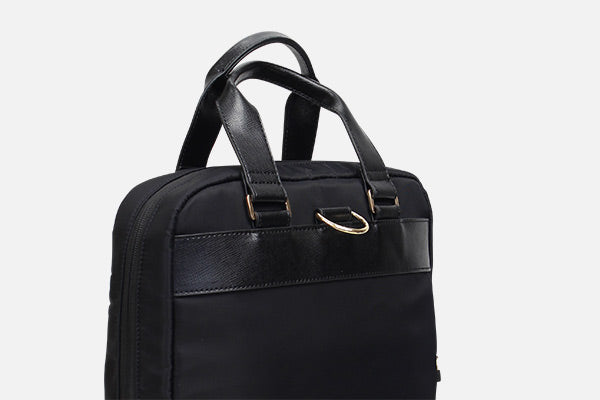 Zoomlite handbags - comfortable leather handles