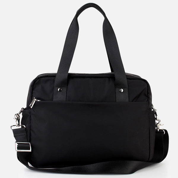 Taylor RFID Convertible Satchel with Quick Access rear pocket