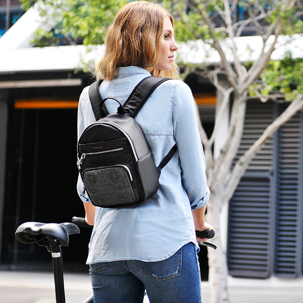 Brianna RFID backpack is a Slim Fit!