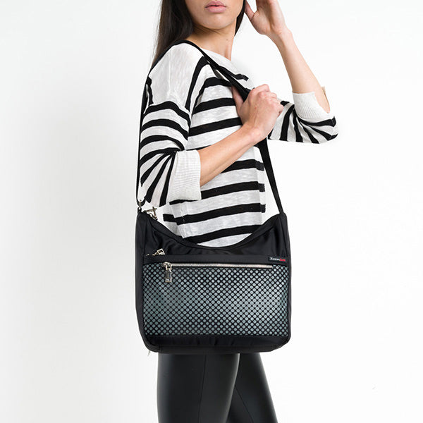 Aria RFID Small Hobo with hands free carry