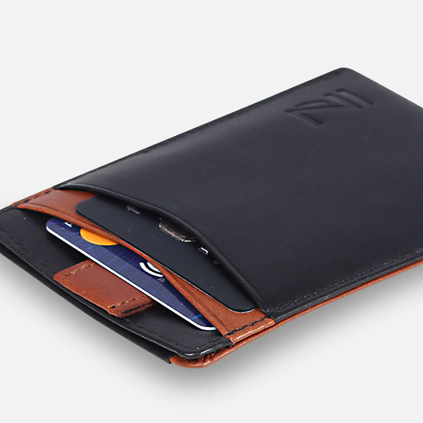Zoomlite leather slim wallets - designed for easy use