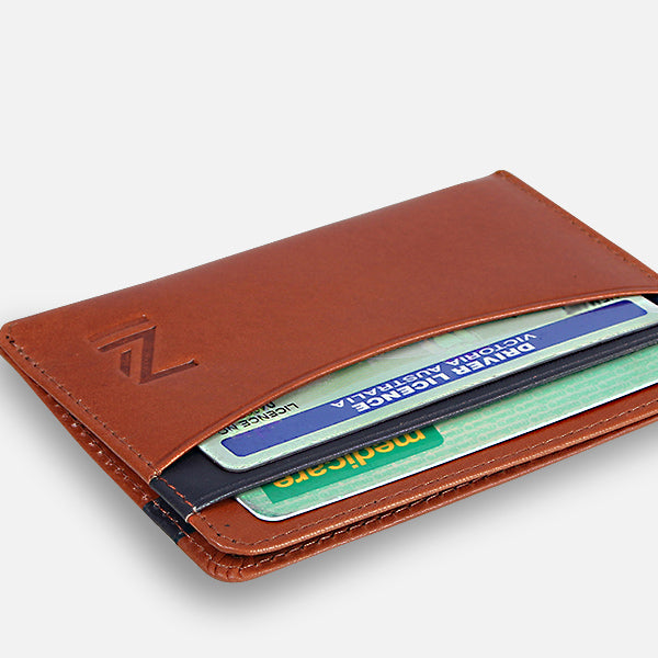 Zoomlite premium leather thin wallet - thoughtful design for ease of use