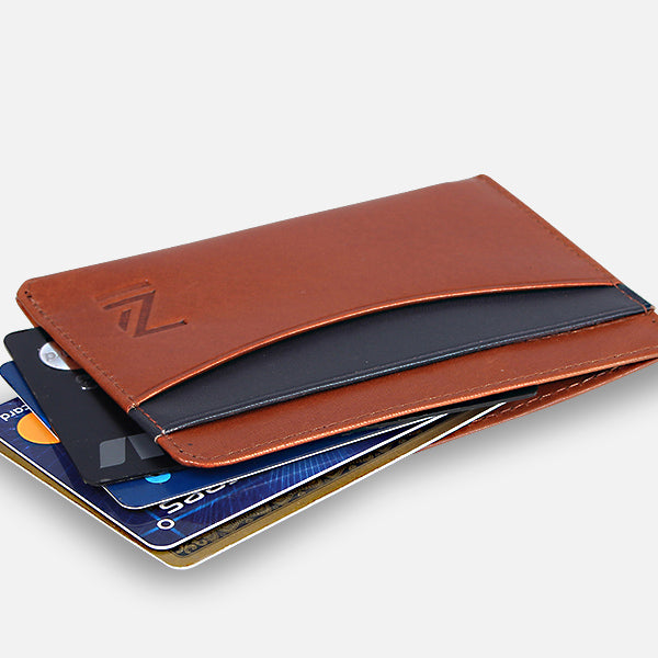 Zoomlite wallets with rfid protection to prevent credit card fraud