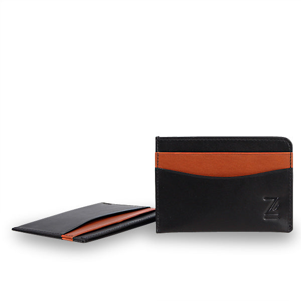 Zoomlite premium leather wallet - slim design so you only carry what you need