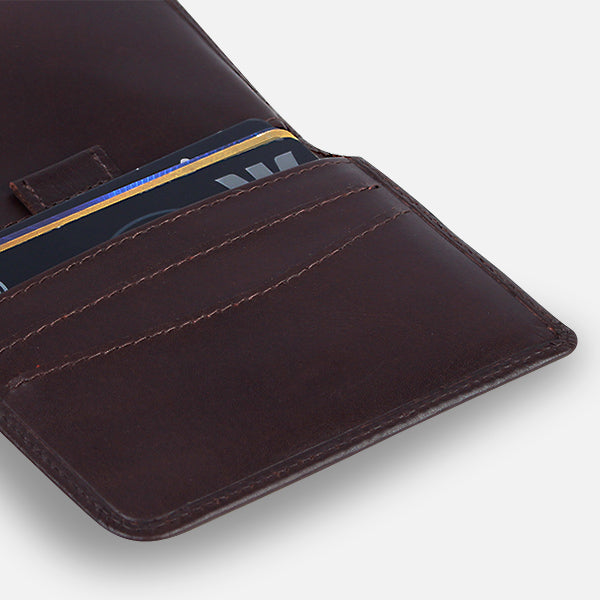 Zoomlite premium leather wallets are made of the softest leather