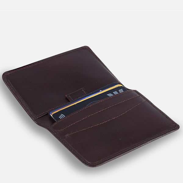 Zoomlite premium leather wallets are rfid safe wallets to protect your credit card data