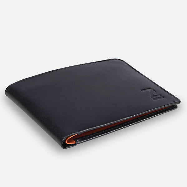 Zoomlite leather thin wallets - to fit in your pocket, no unsightly bulges