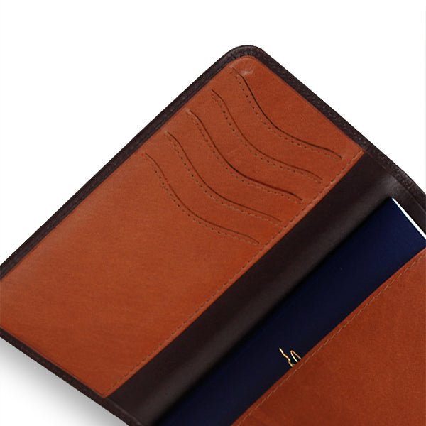 Zoomlite leather passport wallets - smart design for men and women