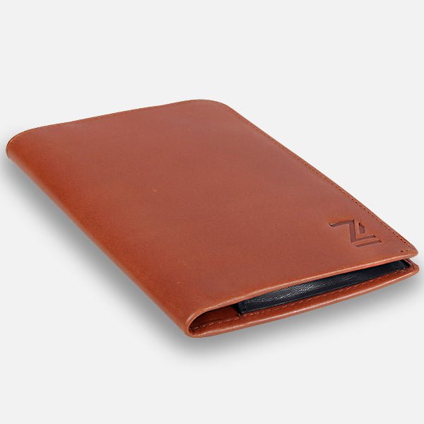 Zoomlite leather Passport wallet - don't leave home without it
