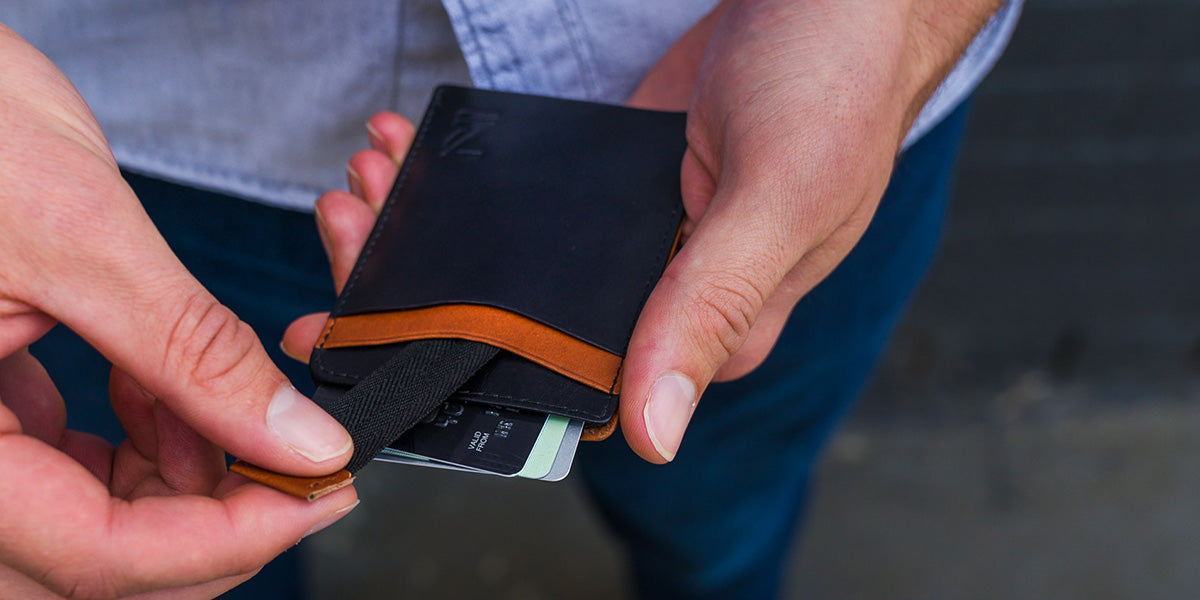 Zoomlite leather RFID Blocking Pocket