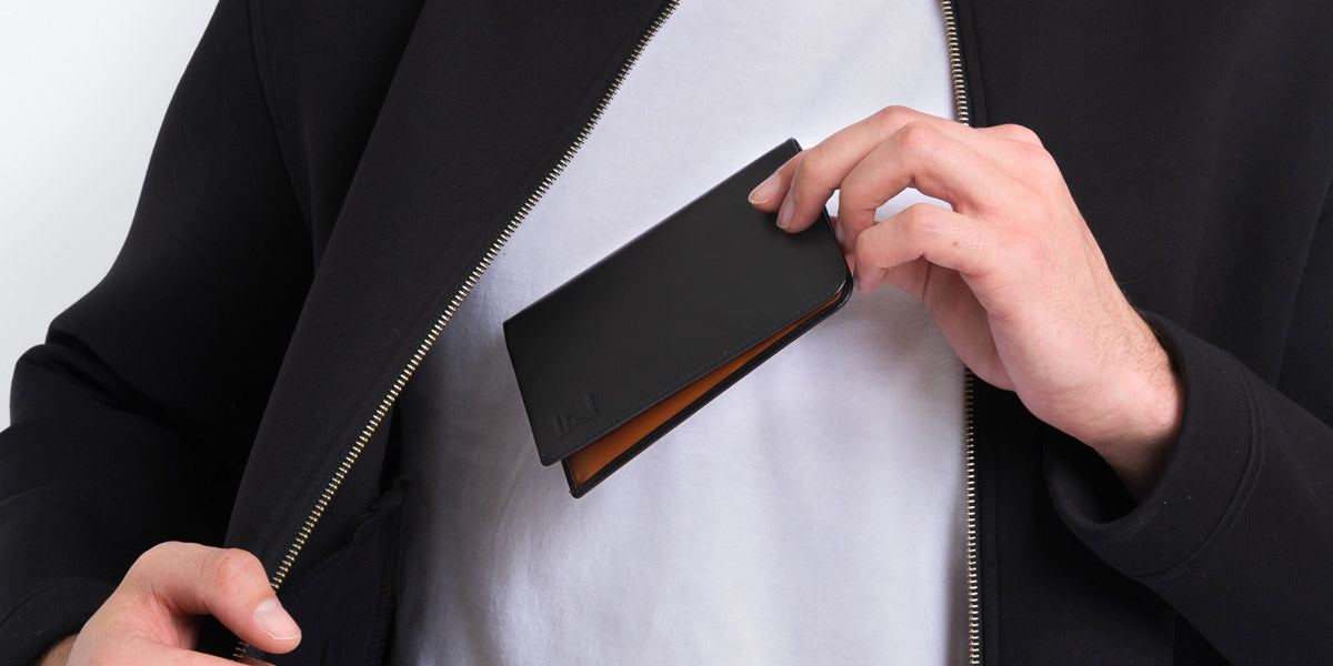 Zoomlite leather RFID Blocking Passport wallet for your Pocket