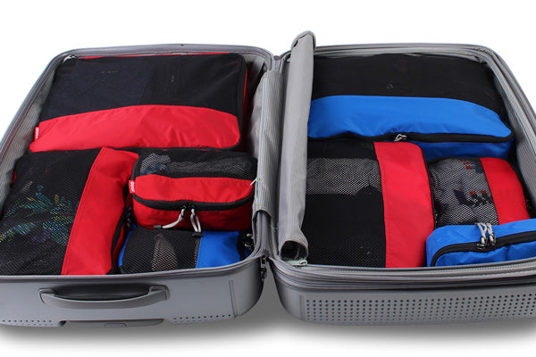 Organise your Trip easily with packing cells for suitcases