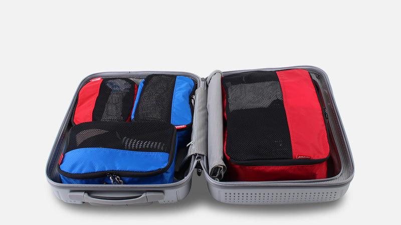 Packing Cubes in Carry On Baggage
