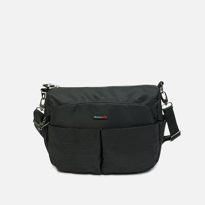 Florence Anti Theft Crossbody Shoulder Bag#choose-colour_blkpattern