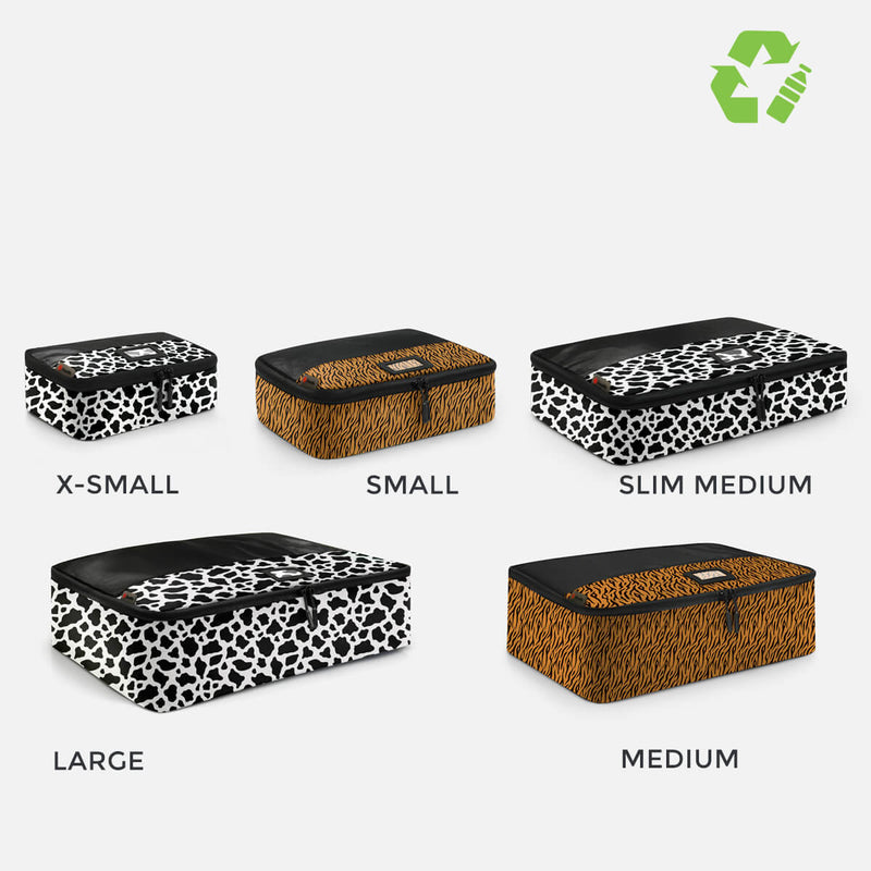 Sustainable Designer Packing Cubes 5 Pc Multi Set