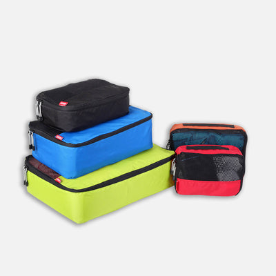 Lightweight packing cubes to organise luggage for your next trip.