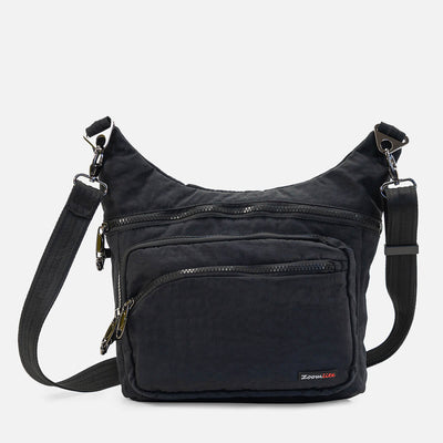 Slashproof crossbody bag for every day or travel#colour_black