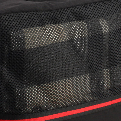 Zoomlite Executive Suitcase organisers with see-through mesh for visibility and breathability